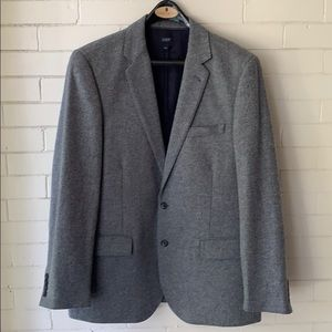J. Crew Gray tweed blazer jacket